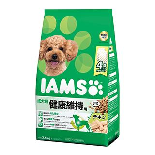 アイムス™ ドッグフード 成犬用 健康維持用 チキン小粒 2.6kg