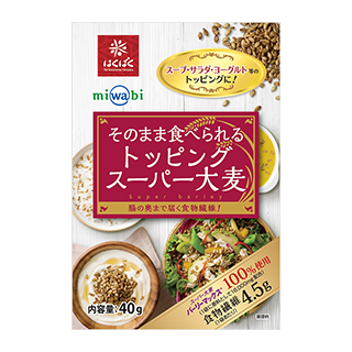 miwabi そのまま食べられるトッピングスーパー大麦 7日間セ…