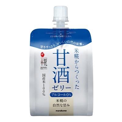 プラス糀 米糀の甘酒ゼリー 12袋