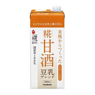 プラス糀 糀甘酒LL 豆乳ブレンド 1000ml×6本