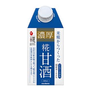 プラス糀 濃厚糀甘酒 500ml×12本