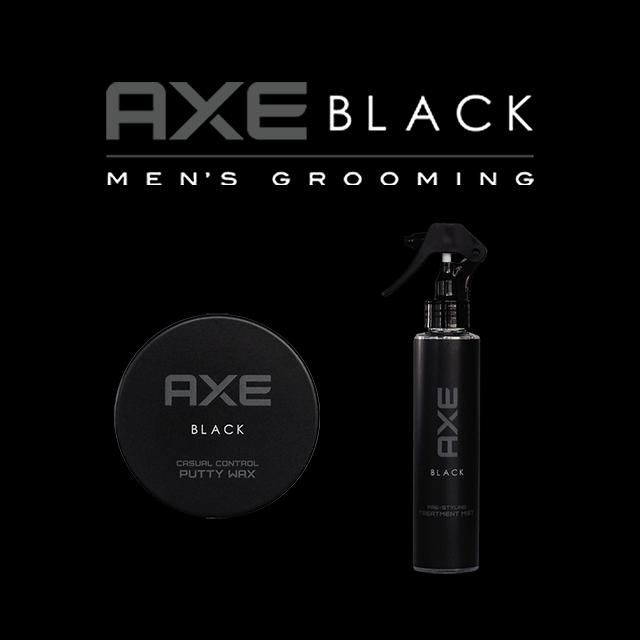 AXE BLACK ヘアスタイリング剤(ナチュラル) 2種14点