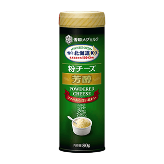 雪印北海道100 粉チーズ芳醇 4本