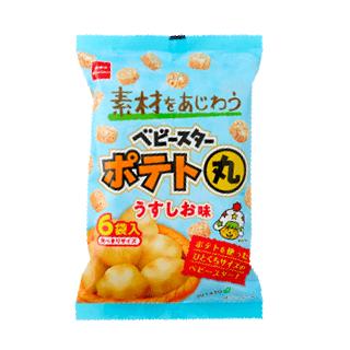 ベビースターポテト丸(うすしお