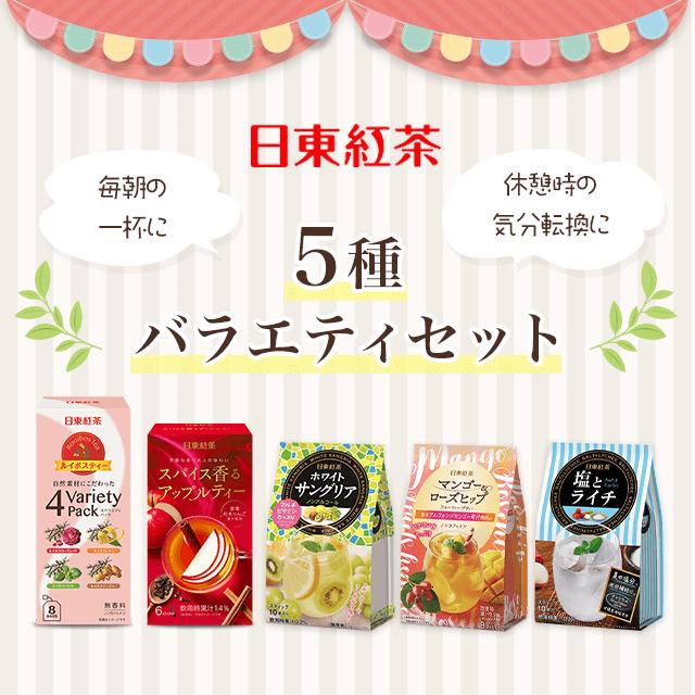 日東紅茶 5種10点バラエティセット