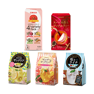 日東紅茶 5種10点バラエティセッ