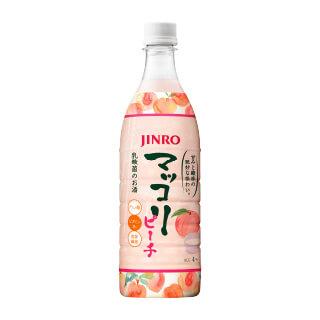 JINRO マッコリ ピーチ 4本