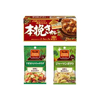 本挽きカレー 中辛/SPICE&H