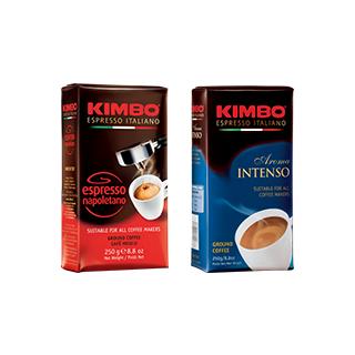 KIMBO(キンボ) エスプレッソ粉 2種(ドリップ・エ…