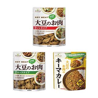 ダイズラボ 大豆のお肉アソートセット 3種7点