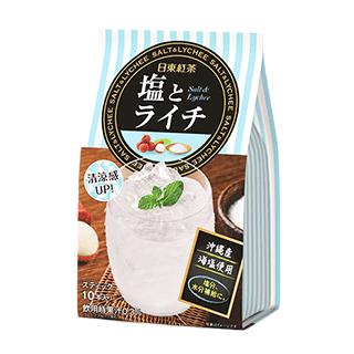 日東紅茶 塩とライチ×6