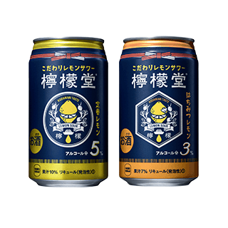 檸檬堂 定番レモン/はちみつレモン 2種12本