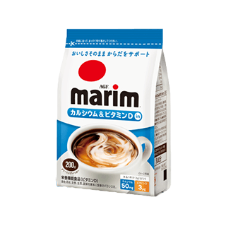 「マリーム®」カルシウム&ビタミンDイン 200g×6袋