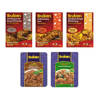 マレーシア料理レトルト5種セット