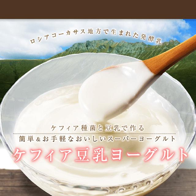 ケフィア豆乳ヨーグルト(1リットル×6回分)
