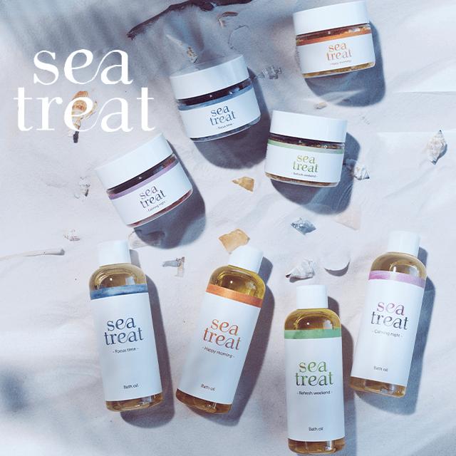 sea treat バスオイル または バスソルト いずれか1点